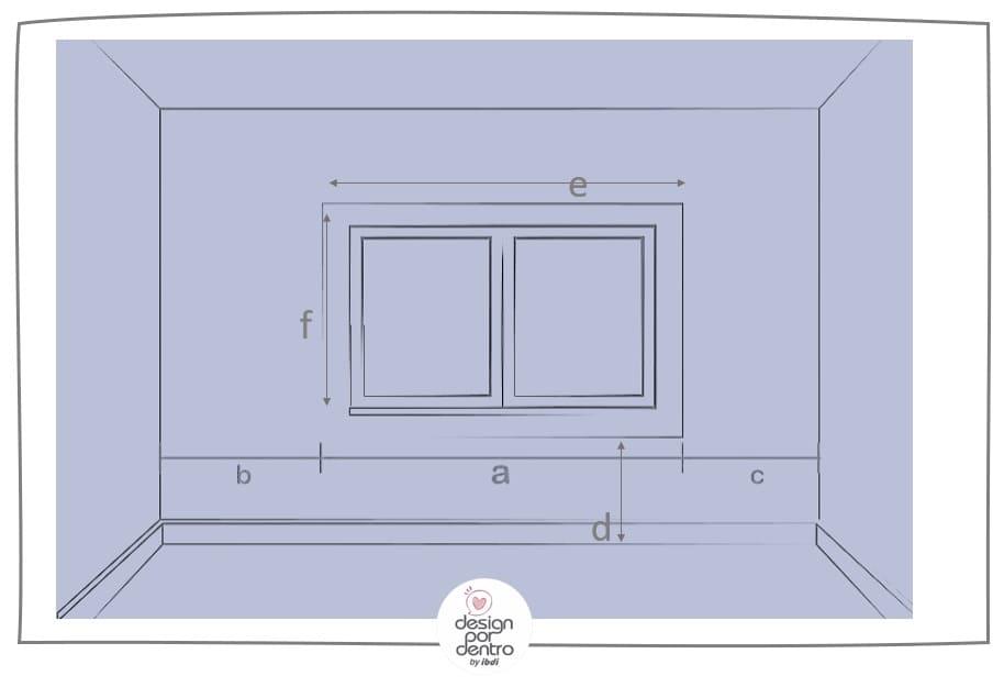 Medição de ambientes alturas janelas e portas