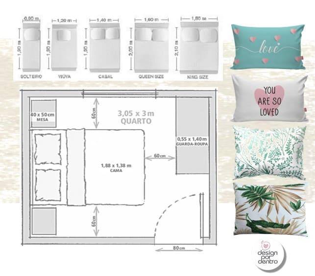 como planejar quartos
