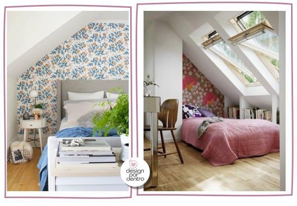 como decorar quartos desproporcionais