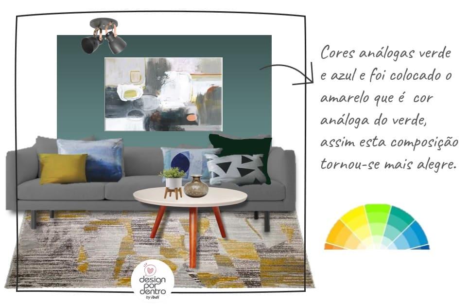 como usar almofadas decoração análogas