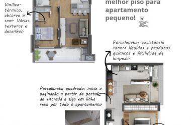 Saiba qual o melhor piso para apartamento pequeno