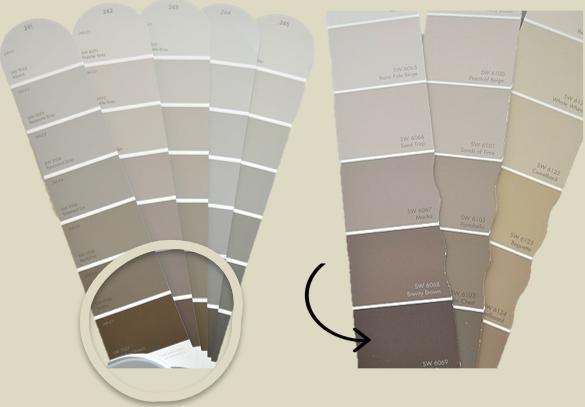 como escolher a cor cinza perfeita
