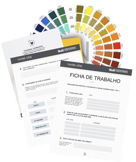 como montar paleta de cores com confiança