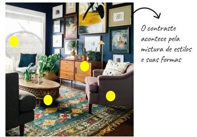 7 princípios básicos da decoração
