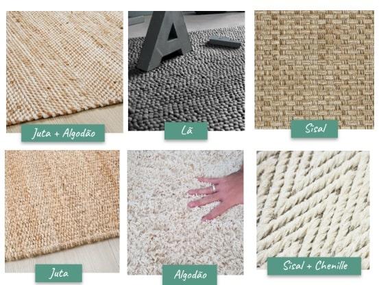Lições sobre tapetes na decoração